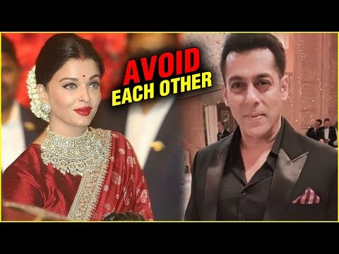 Salman Khan And Aishwarya Rai AVOID EACH OTHER At