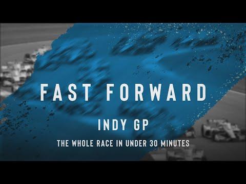 インディーカー第5戦インディカー・インディアナポリス 決勝レースハイライト無料動画