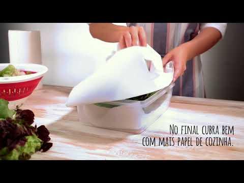 Cozinha com truques – Como manter a alface fresca por mais tempo
