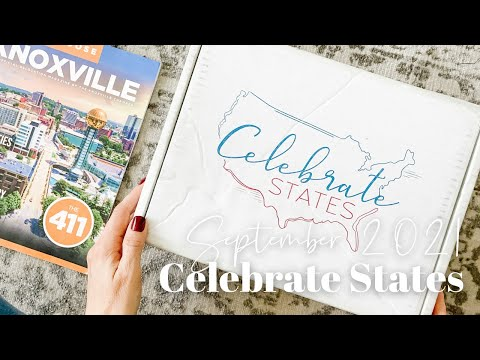 Celebrate States Unboxing September 2021