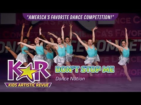"""Don't Stop Me"" from Dance Nation"