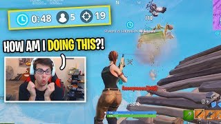 I FINALLY tried SOLO SQUADS for the first time on Fortnite...