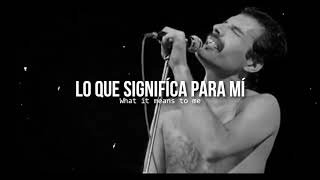 Love of my life • Queen | Letra en español / inglés