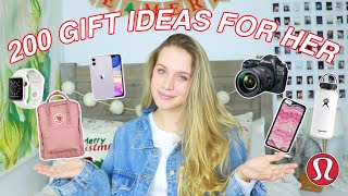 200 GIFT IDEAS FOR HER | Teen Gift Guide 2019