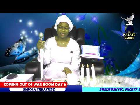 COMING OUT OF WAR ROOM DAY 6 WITH ENIOLA TREASURE PLEASE SUBSCRIBE TO OUR CHANNEL