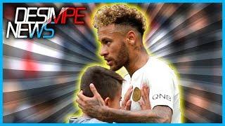 Neymar faz a alegria de garoto e é aplaudido por todo o estádio!
