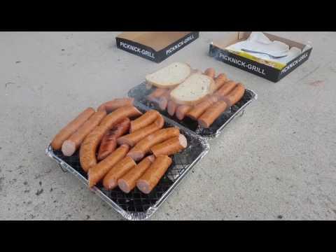 Jak zrobić szybki grill za 5 zł? Picknick-Grill - Zrób To Sam