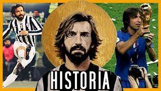 Nació MILLONARIO y solo jugó por PASIÓN | PIRLO HISTORIA