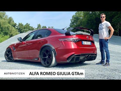 Alfa Romeo Giulia GTAm (540 PS): Supersportwagen oder Limousine? Test   Review   Sound   2021