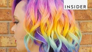 Rainbow Hair Salon