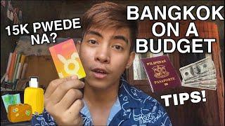 BANGKOK THAILAND ON A BUDGET Airfare, Accommodation,Transportation, Food| THAILAND BUDGET TRAVEL