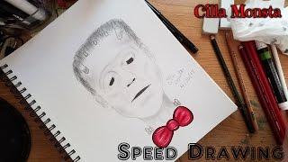 YouTube: Frankenstein Speed Drawing