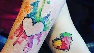 Татуировки на День Святого Валентина для Влюбленных Парочек