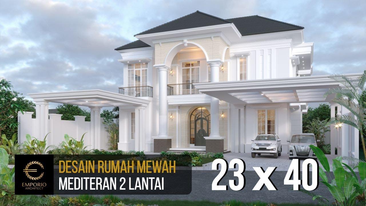 Video 3D Mr. Datuk Sabri Mediteran House 2 Floors Design - Malaysia