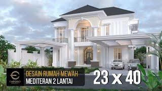 Video Desain Rumah Mediteran 2 Lantai Bapak Datuk Sabri di  Malaysia