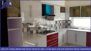 LAKE CITY 1 KANAL BRAND NEW HOUSE FOR SALE 6 BED ( 3.5 CRORE ) VISITED BY ( SREL ) 15-JAN-2018