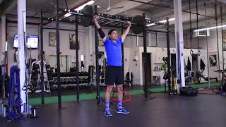 Squat Mobility BB Overhead 5