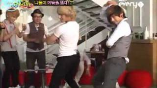 Idols Do The Brown Eyed Girls - Abracadabra Hip Dance