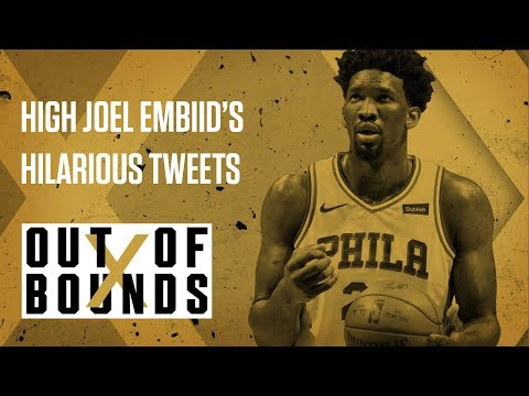 High Joel Embiid's Hilarious Tweets | Out of Bounds