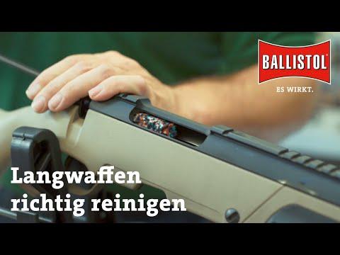 ballistol: Waffenreinigung mit BALLISTOL − Teil 5: Die Reinigung der Langwaffe. Ausführliche Erklärung mit Video!