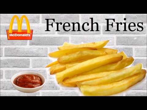 Make FRENCH FRIES like Mc'Donalds at home   Secret for a perfect golden crisp fries   Yummylicious..