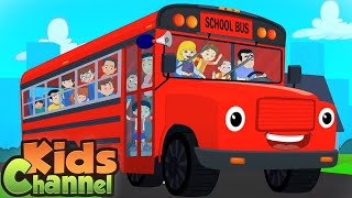 Wheels On The Bus Go Round And Round | Cartoon Videos for Babies from Kids Channel