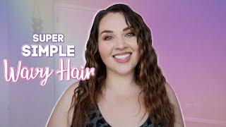Fool Proof Wavy Hair Tutorial | Sarah Rae Vargas