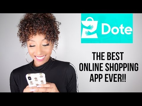 The BEST Online Shopping App Ever! DOTE | BiancaReneeToday