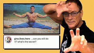 Jean Claude Van Damme Explains Those Splits   Vs The Internet   Men's Health