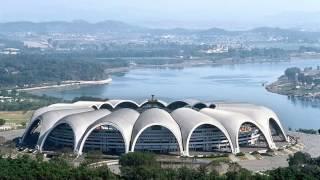 """Рекорд Гиннеса. Самый большой стадион в мире """"Стадион 1 мая""""."""
