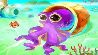 Развивающий мультфильм Обитатели Моря - Мультики для раннего развития