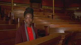 Watch National Youth Poet Laureate Amanda Gorman perform her Thanksgiving poem