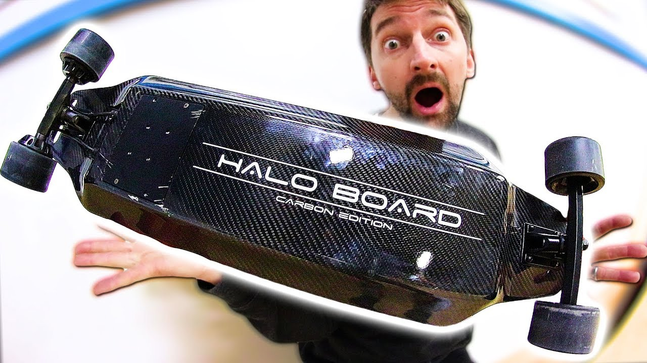 BEST ELECTRIC LONG BOARD EVER!? - Braille Skateboarding