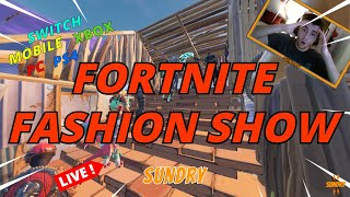 🔴Fortnite Fashion Show   Xbox PS4 PC   Fortnite Live Stream with viewers   (ReRun)