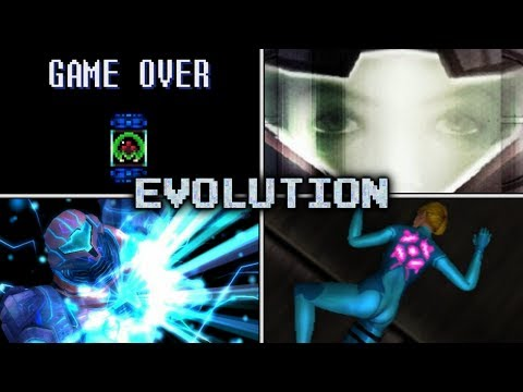 Evolution of Death Animations & Game Overs in Metroid (1986 - 2016)