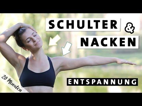 Yoga Schulter Nacken Entspannen | Verspannungen lösen | Übungen für den Alltag