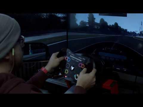 Видео № 0 из игры Руль Thrustmaster TS-PC Racer Racing wheel (PC)
