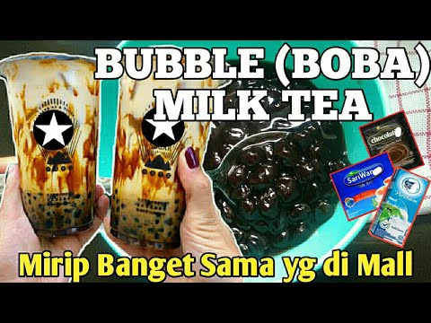 Resep Bubble (Boba) Milk Tea berasa beli di Mall