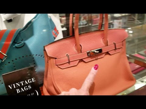 Vintage Hermes ~ Neiman Marcus Outlet Las Vegas, Last Call! Shop with Me!