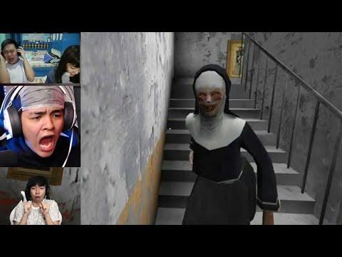 Reaksi Gamer Indo Bermain The Nun Horror Games