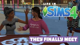 Life In The Sims 4 | They Finally Meet | Sims 4 Let's Play