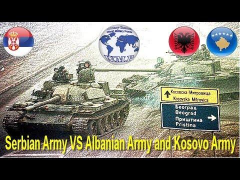 Serbia VS Albania and Kosovo Military Power Comparison 2017 - 2018