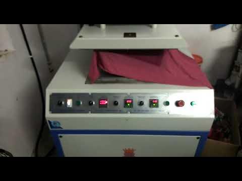 Pneumatic T Shirt Embossing Machine