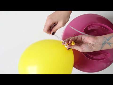 #11 PARTYTUTORIAL: LED Ballons mit Luft oder Helium befüllen