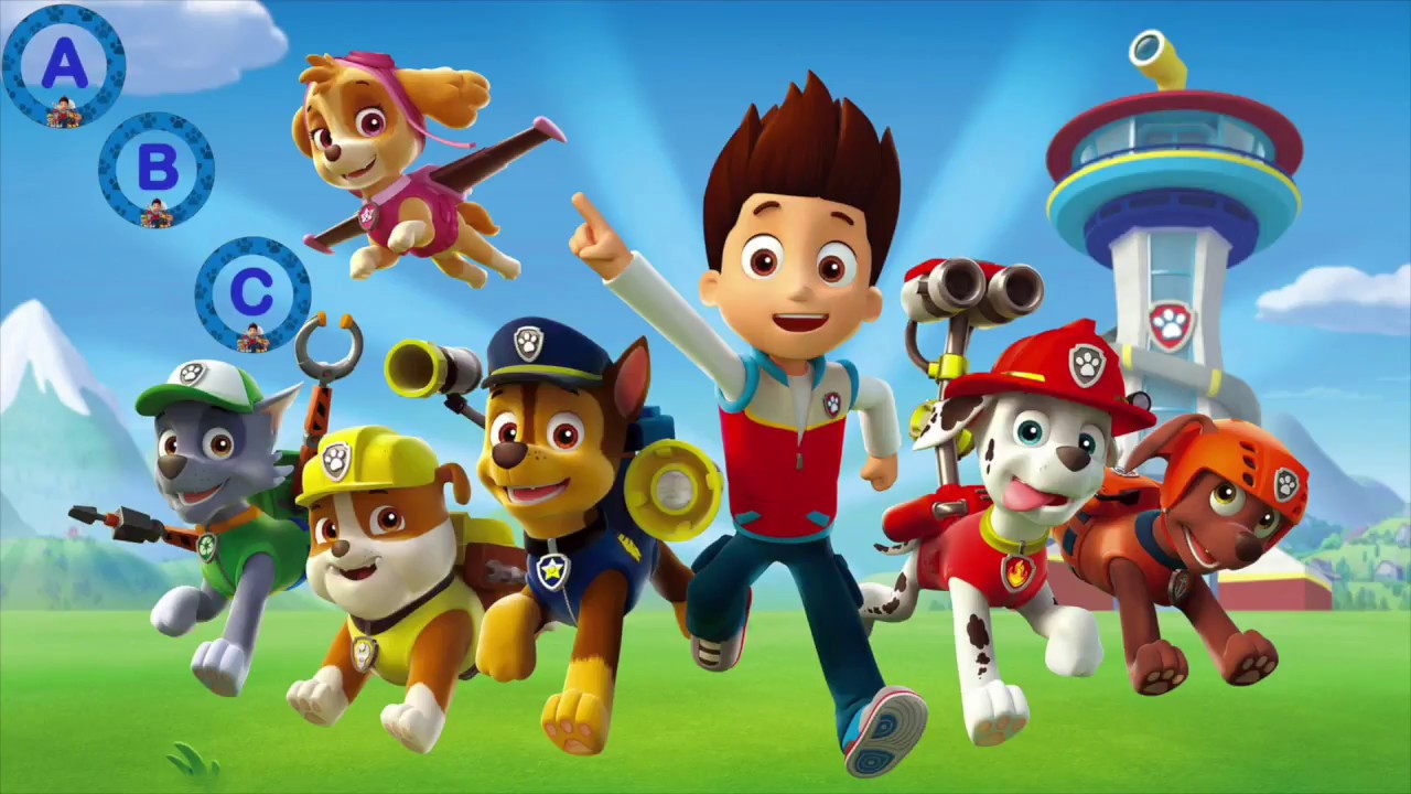 PAW Patrol Alphabet Song for Children ABC Songs