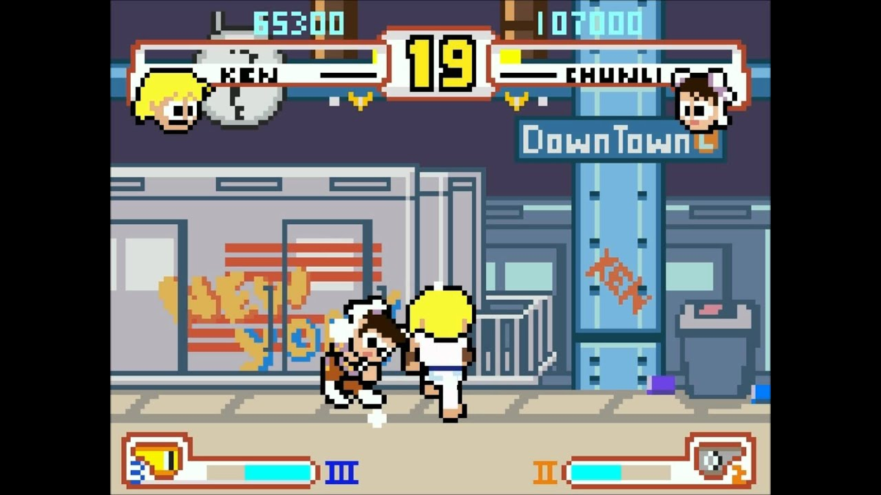 An 8-Bit Tribute To A Fighting Game Legend