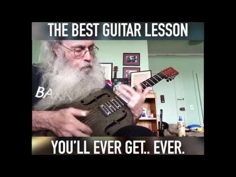 The Best Blues Guitar Lesson