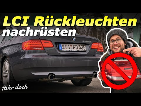BMW E92 LCI Rückleuchten nachrüsten | BMW E92 335d | Do it yourself | Fahr doch