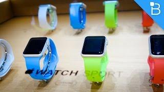 Apple Watch Hands-On! (Sport Model)