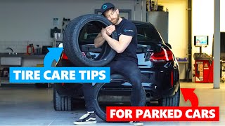 6 Essential Tips To Protect Your Tyres when Parked